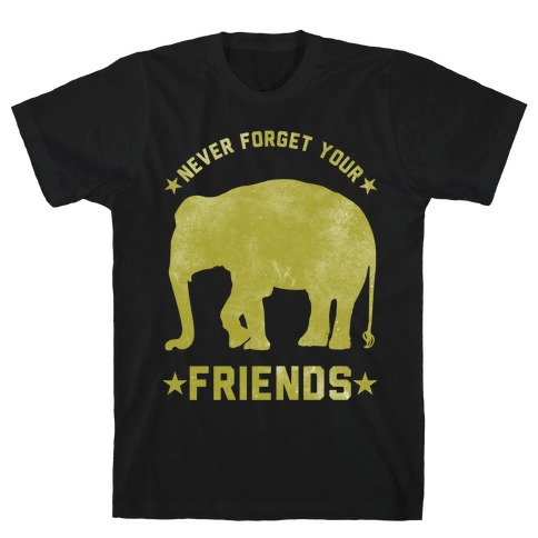 Never Forget Your Friends T-Shirt