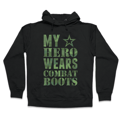 My Hero Hooded Sweatshirt