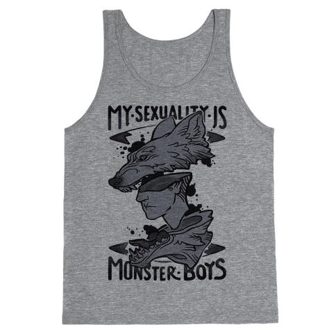 My Sexuality Is Monster Boys Tank Top