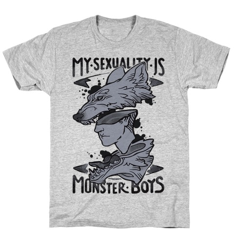 My Sexuality Is Monster Boys T-Shirt