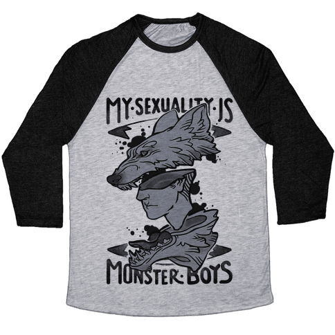 My Sexuality Is Monster Boys Baseball Tee