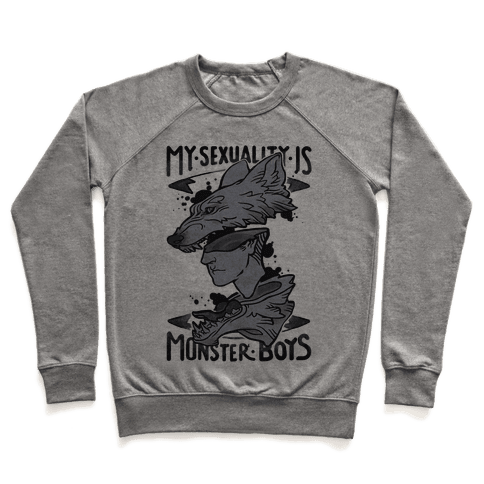 My Sexuality Is Monster Boys Pullover