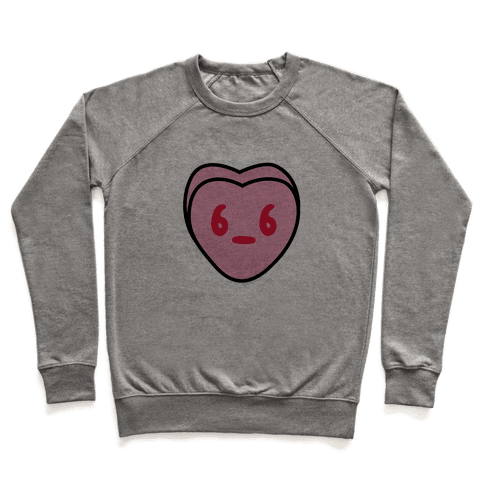 Candy Heart Side Eye Pullover