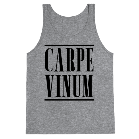 Carpe Vinum Seize the Wine Tank Top