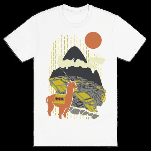 Machu Picchu Mens T-Shirt
