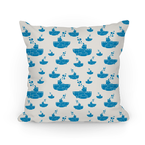 Nautical Submarine Pillow