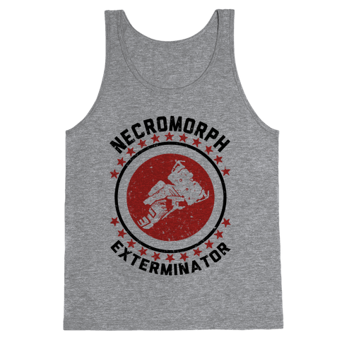 Necromorph Exterminator Tank Top
