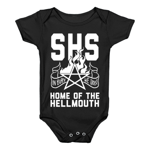 Home of the Hellmouth Baby Onesy