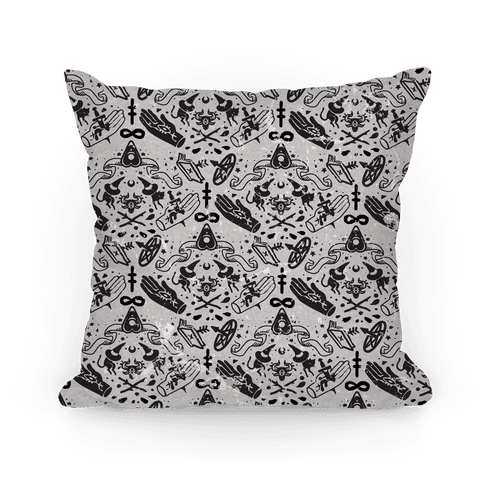 Occult Pattern Pillow