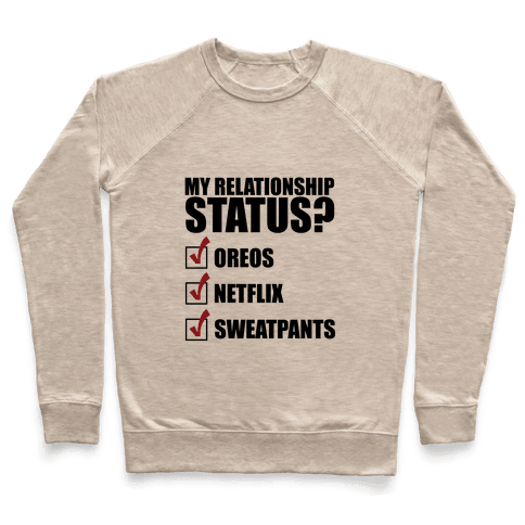 My Relationship Status Pullover