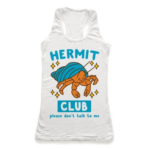 Hermit Club Racerback Tank Top