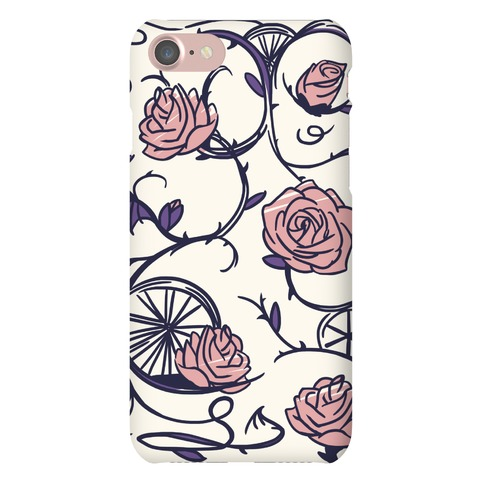 Sleeping Beauty Briar Rose Floral Pattern Phone Case
