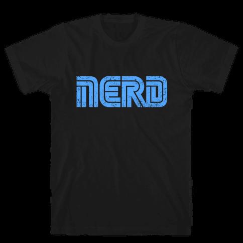 Vintage Sega Nerd Mens T-Shirt
