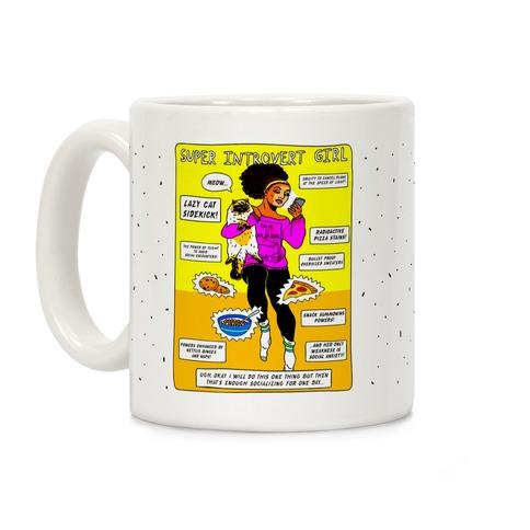 Super Introvert Girl Coffee Mug