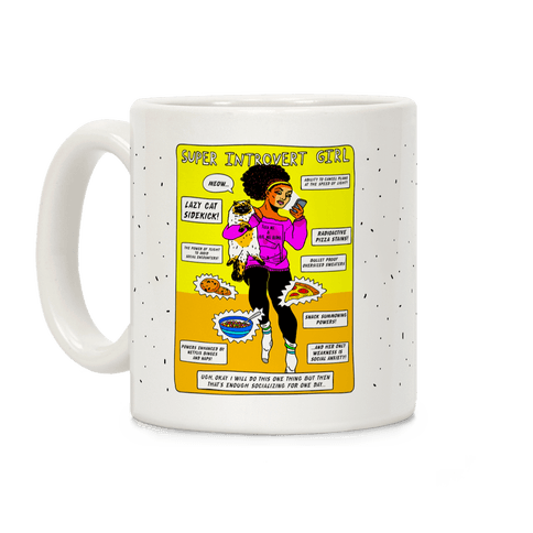 Super Introvert Girl Coffee Mug