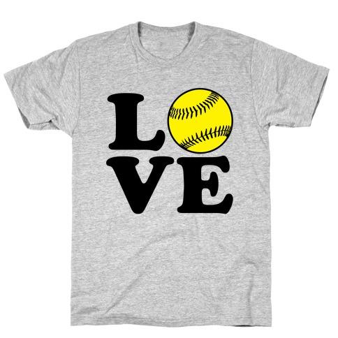 Love Softball T-Shirt