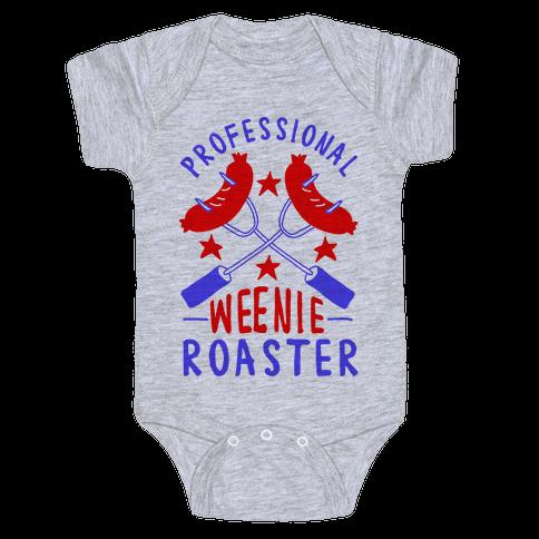 Professional Weenie Roaster Baby Onesy