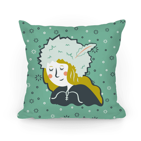 East of the Sun & West of the Moon Heroic Girl Pillow