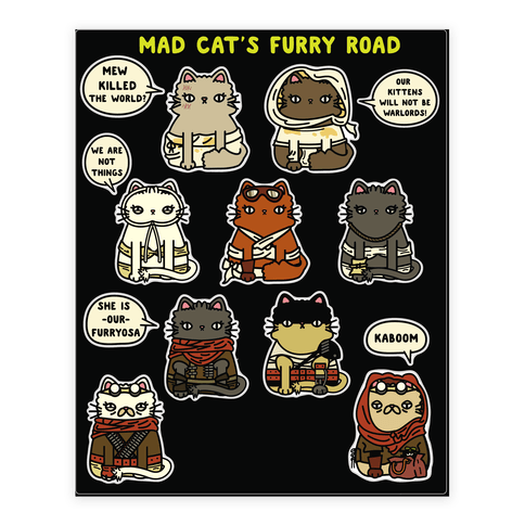 Mad Cats Furry Road