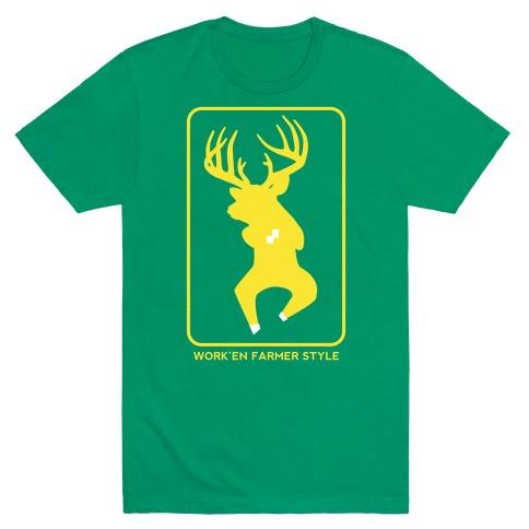 Farmer Style Mens T-Shirt