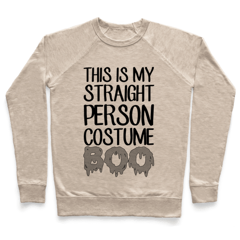 Straight Costume Pullover
