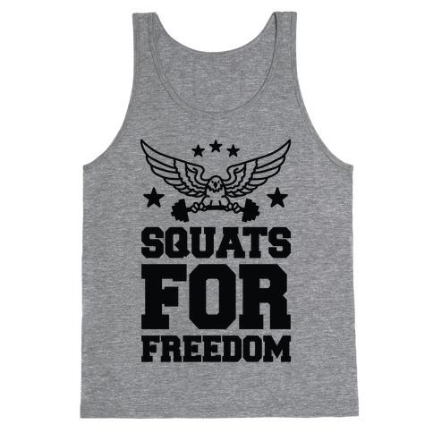 Squats For Freedom Tank Top