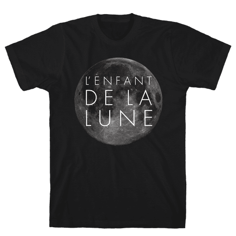 Child Of The Moon Mens T-Shirt