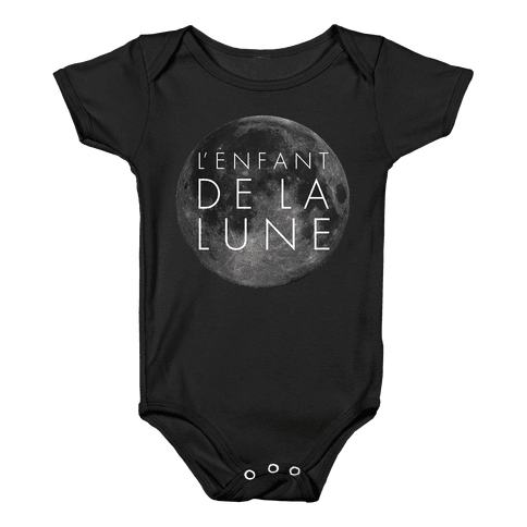 Child Of The Moon Baby Onesy