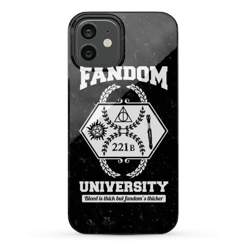Fandom University Phone Case
