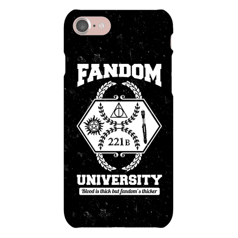 Fandom University Phone Case