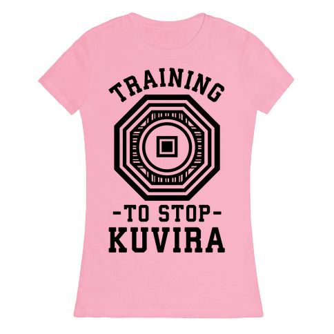Training to Stop Kuvira Womens T-Shirt