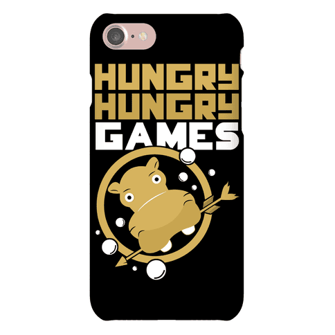Hungry Hungry Games Phone Case