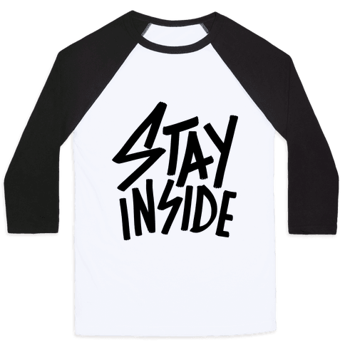 Stay Inside Baseball Tee