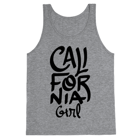 California Girl Tank Top
