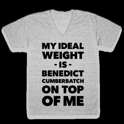 Ideal Weight V-Neck Tee Shirt
