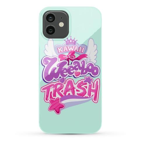 Kawaii Weeaboo Trash Anime Logo Phone Case