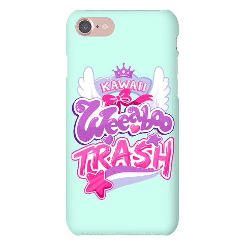 Kawaii Weeaboo Trash Anime Logo Phone Case