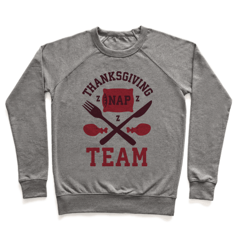 Thanksgiving Nap Team Pullover