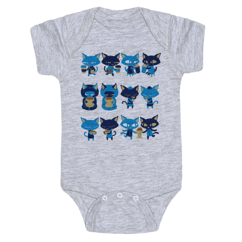 Coffee Cats Baby Onesy