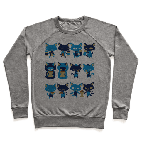 Coffee Cats Pullover