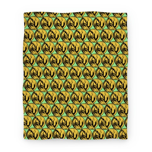 Sleeping Dragon (Gold) Blanket