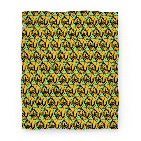 Sleeping Dragon (Gold) Blanket