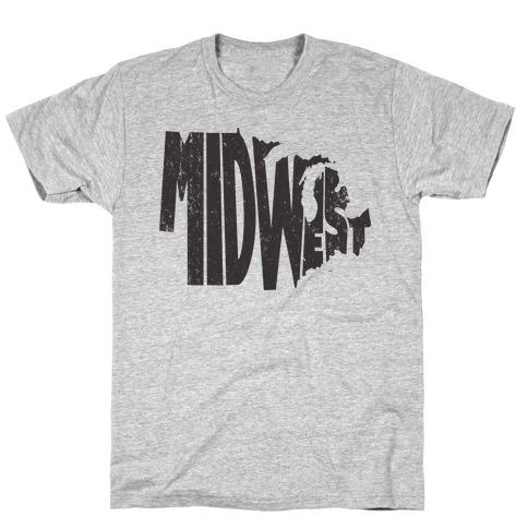 Midwest (Vintage Tank) T-Shirt