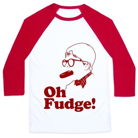 Oh Fudge! Baseball Tee