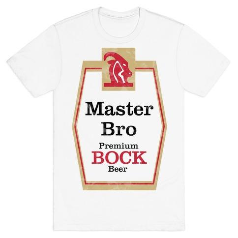 Master Bro (Meister Brau) Mens T-Shirt