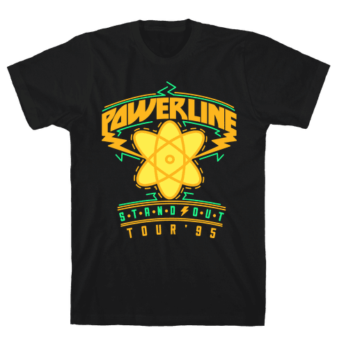 Powerline Tour Mens T-Shirt