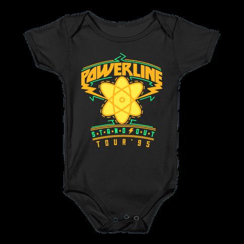 Powerline Tour Baby Onesy