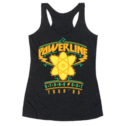 Powerline Tour Racerback Tank Top