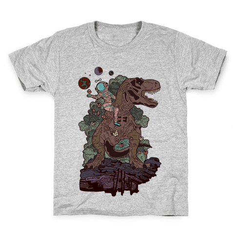 Dinosaur Strength Tarot Kids T-Shirt