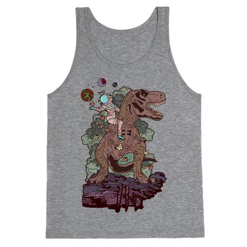 Dinosaur Strength Tarot Tank Top